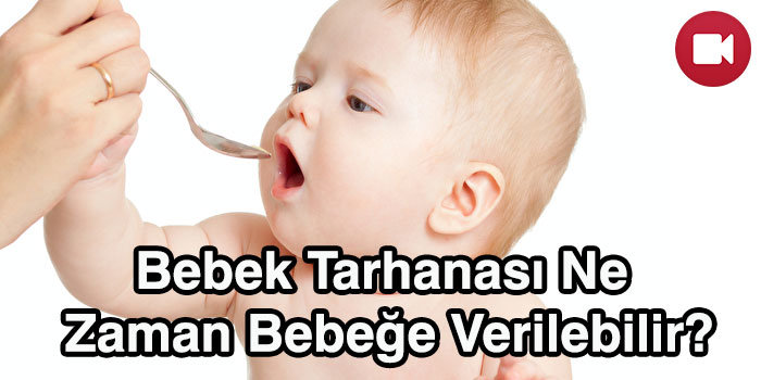 bebek tarhanası ne zaman bebeğe verilir