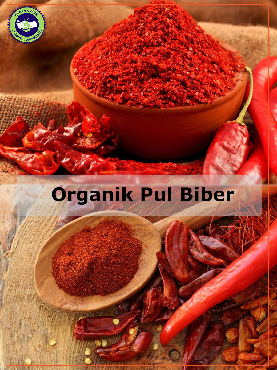 Organik pul biber