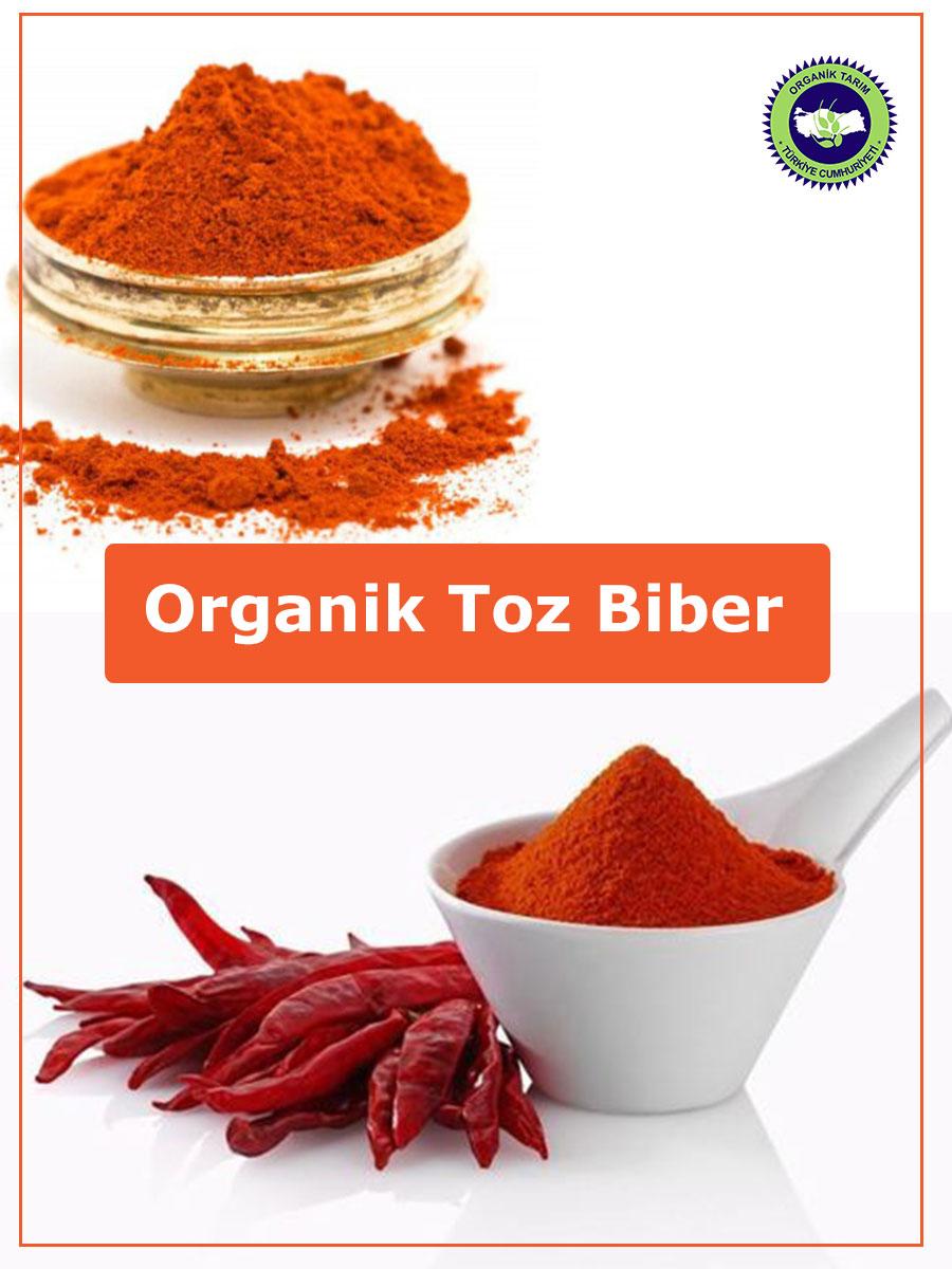 organik toz biber